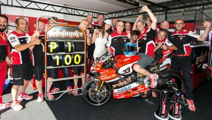 Superbike, Gp Germania: Davies trionfa in Gara 1. Melandri solo 4°