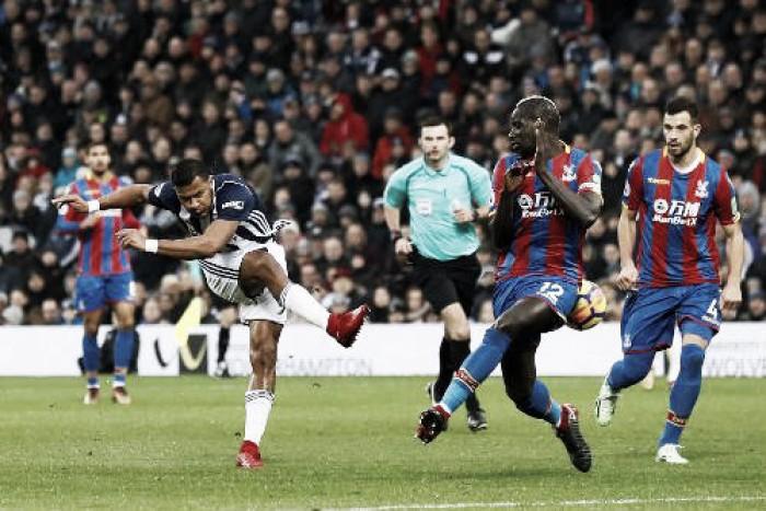 West Bromwich y Crystal Palace suman un punto que no les vale para dejar atrás el descenso