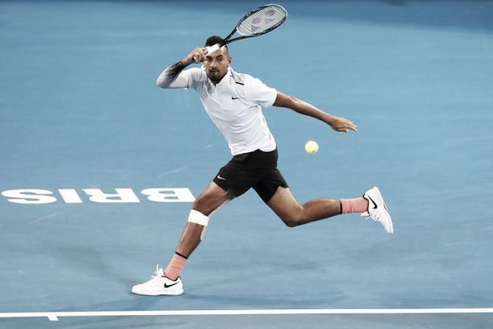 Kyrgios completa una gran semana y apunta al Open de Australia