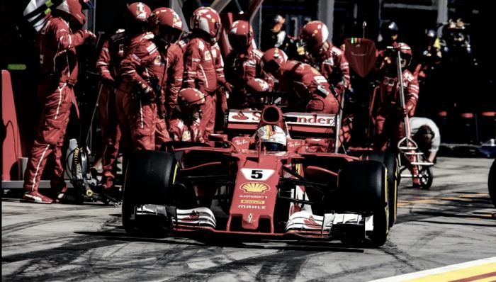 Ferrari d'attacco: nuovo diffusore e sospensione posteriore per sfidare le Mercedes