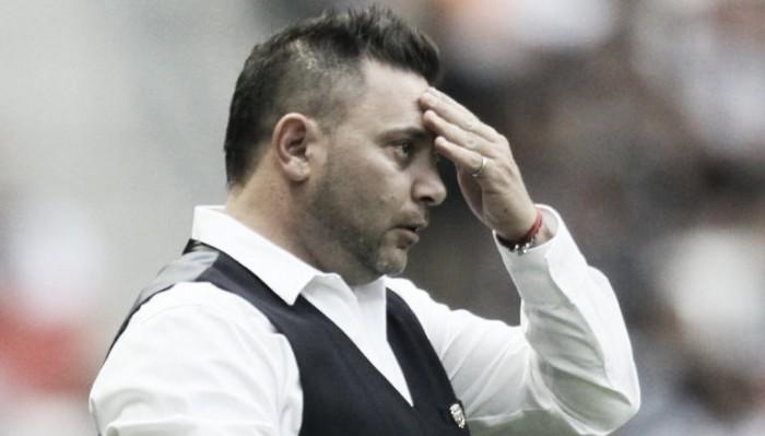 Antonio Mohamed se fue conforme con el empate albiazul en el TSM