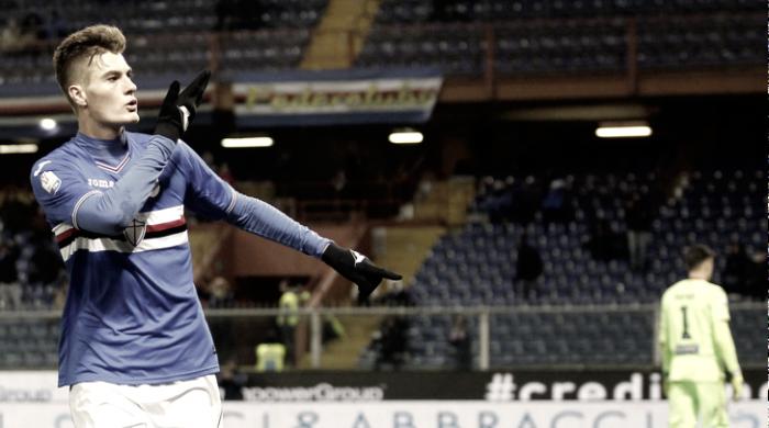Sampdoria: Ferrero striglia la rosa dopo il pari contro il Palermo, le big mettono in lista Schick