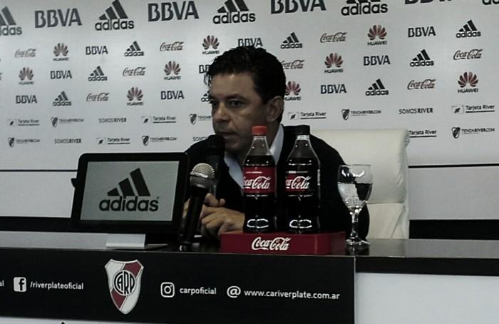 """Gallardo: """"No nos pudimos reponer del segundo gol"""""""