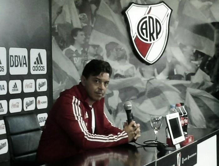 """Gallardo: """"En este club tenés que estar preparado para la exigencia"""""""