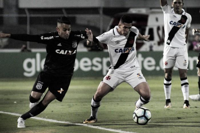 Em Campinas, Ponte Preta e Vasco ficam no empate sem gols