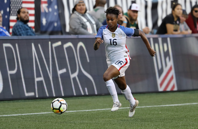Taylor Smith signs with Reign FC