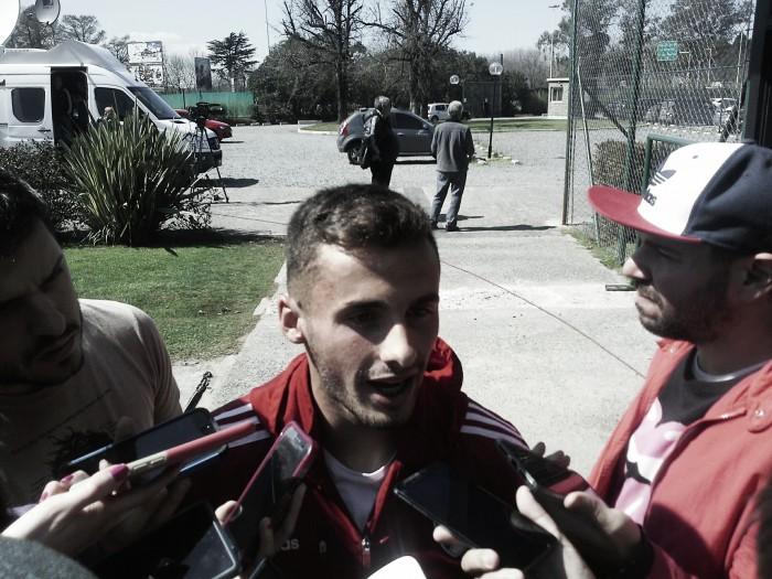 """Saracchi: """"Llegué a un club hermoso, y debutar con un triunfo fue mucho mejor"""""""