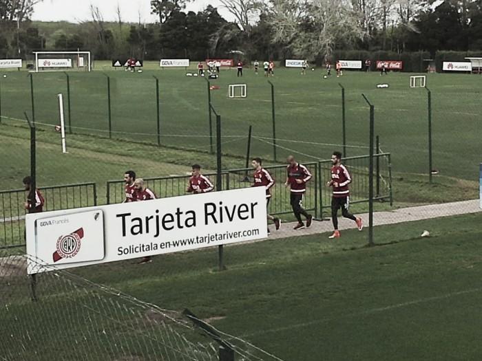 River volvió a los entrenamientos en Ezeiza