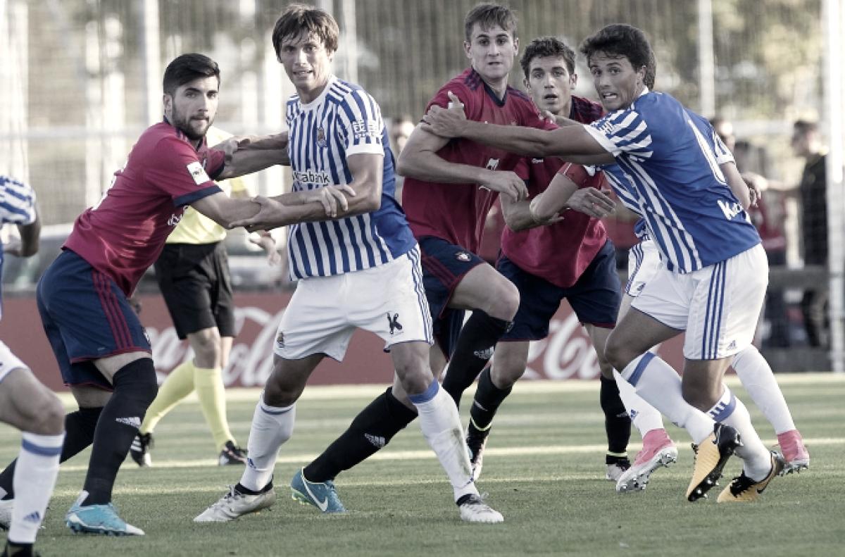 Previa Real Sociedad B - Arenas: el play-off ante la tranquilidad