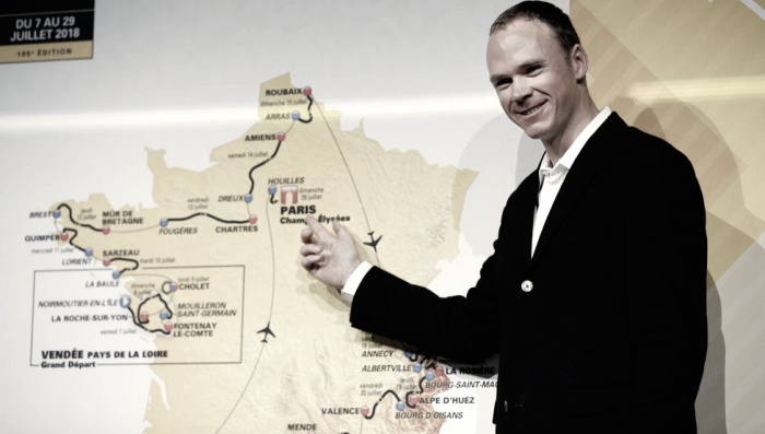 "Chris Froome: ""Los Alpes van a ser el mayor reto"""