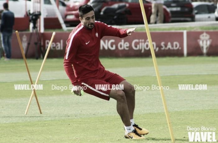 """Álex Pérez: """"Visto lo visto en los último partidos, tenemos que apretar"""""""