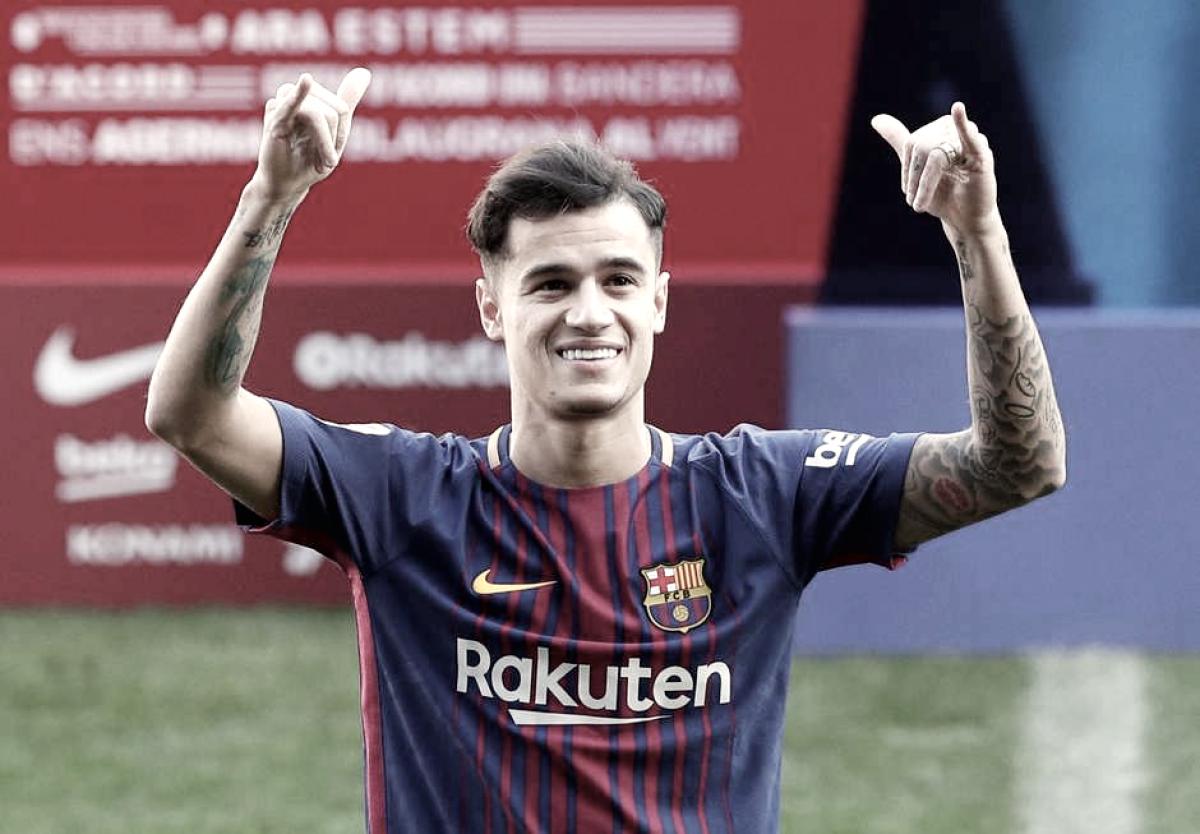 PSG oferece mais de um bilhão de reais para tirar Philippe Coutinho do Barcelona