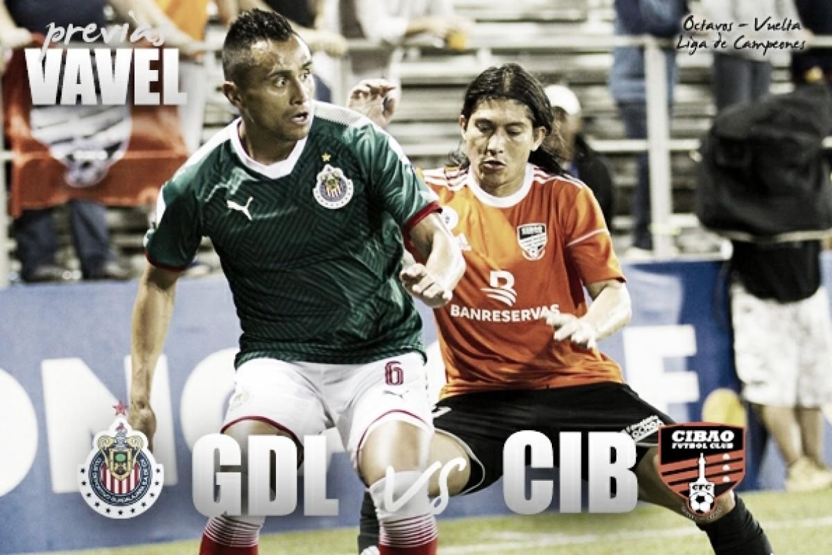 Previa Chivas - Cibao FC: Sentenciar los octavos en casa