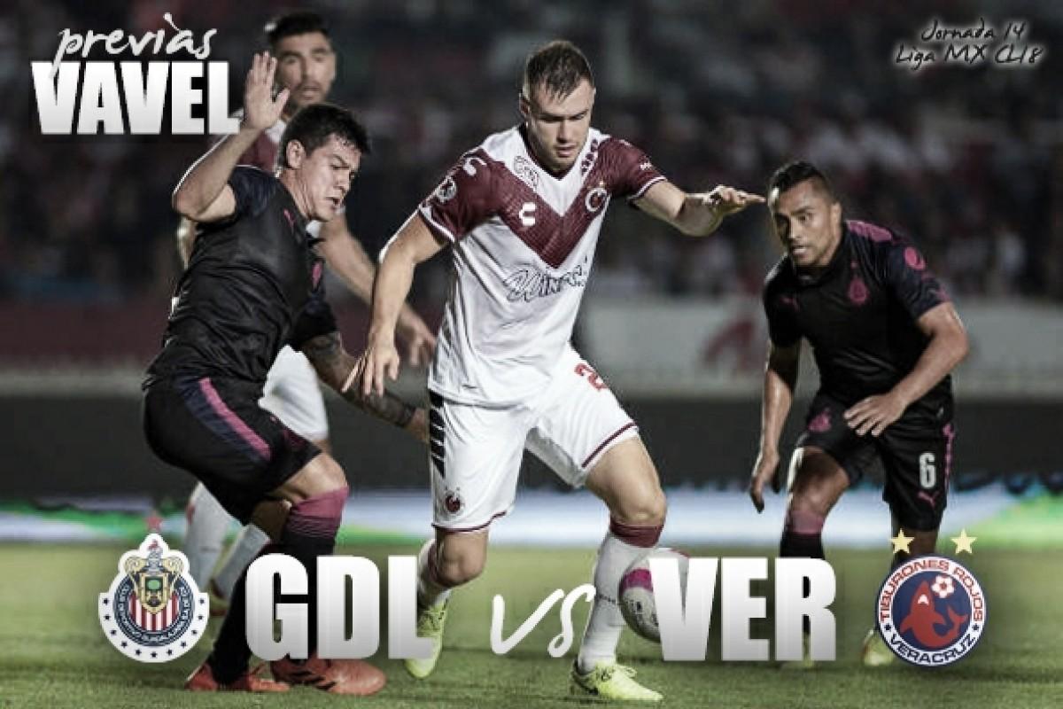 Previa Chivas - Veracruz: mucho futuro en juego