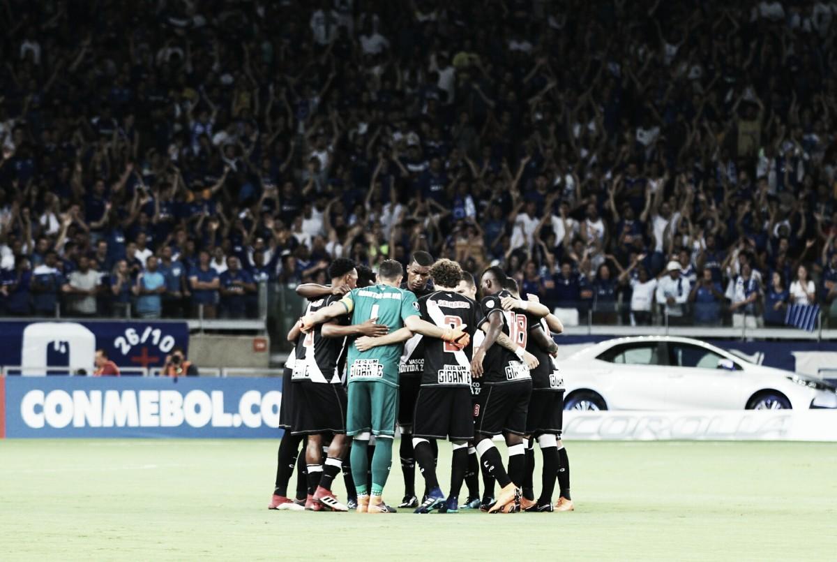 Vasco e Cruzeiro fazem jogo decisivo na luta por vaga na Libertadores