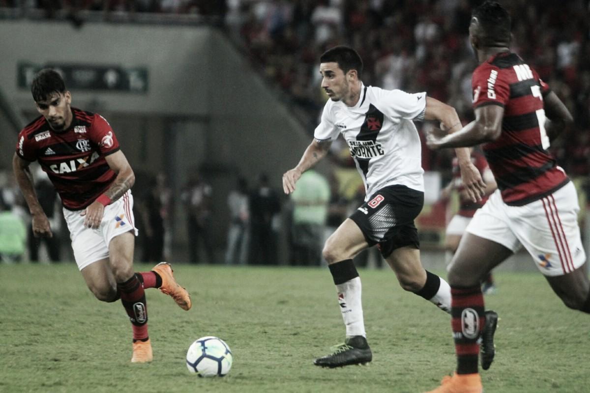Thiago Galhardo volta sentir dores musculares e é dúvida para próxima partida do Vasco