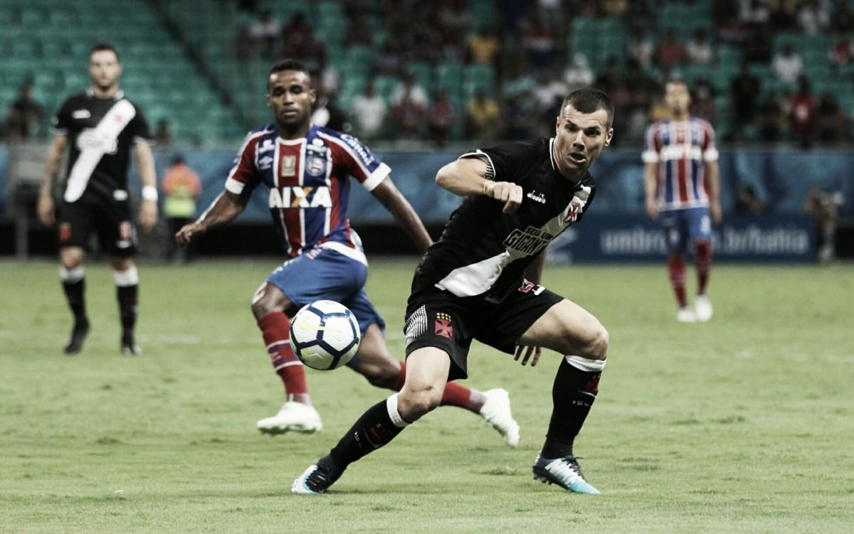 Resultado Bahia x Vasco no Campeonato Brasileiro 2018 (3-0)