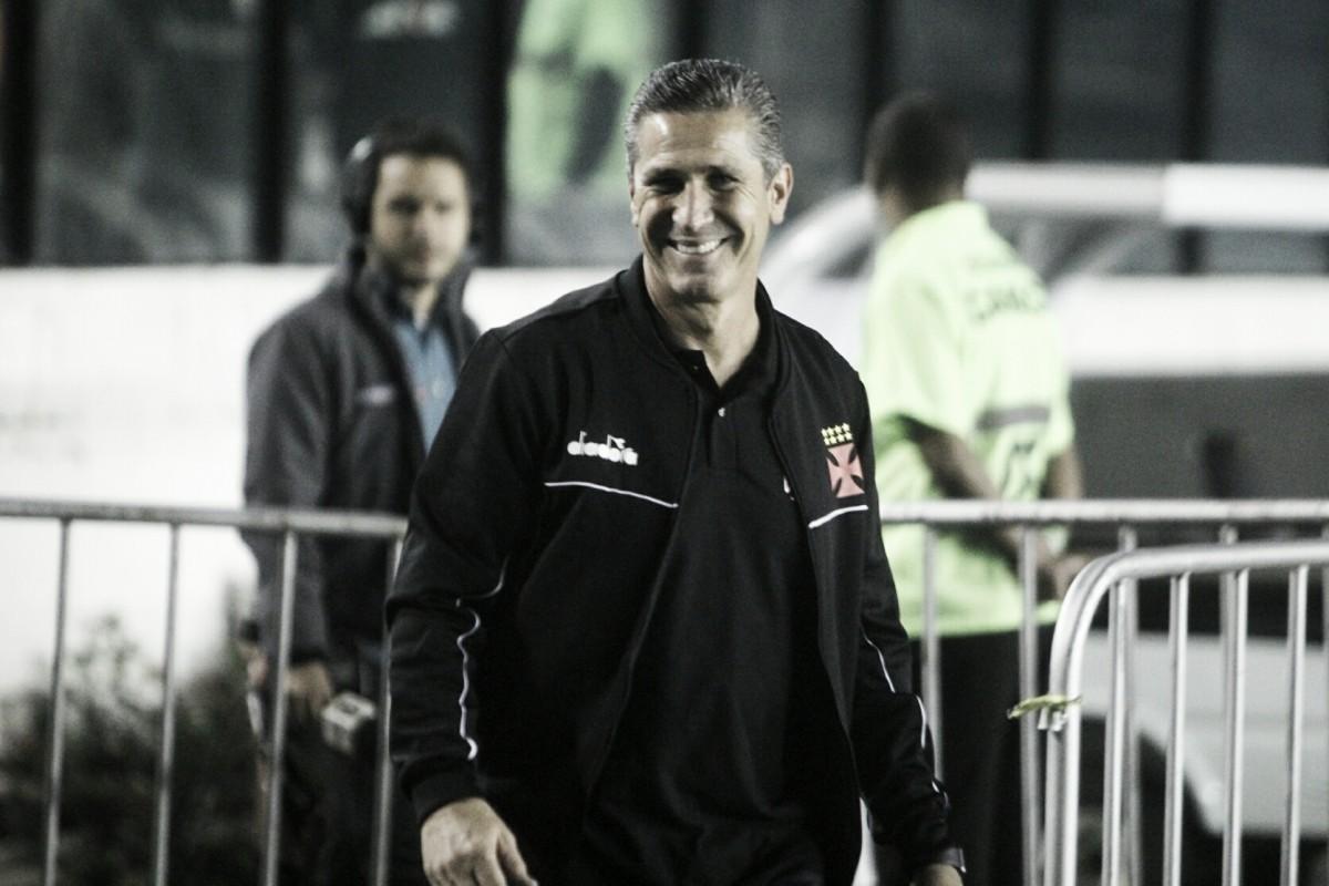"""Jorginho destaca importância da vitória em reestreia no Vasco: """"Temos um processo longo"""""""
