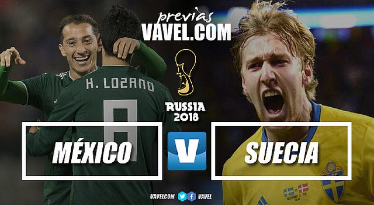 Previa México - Suecia: la batalla por los octavos de final