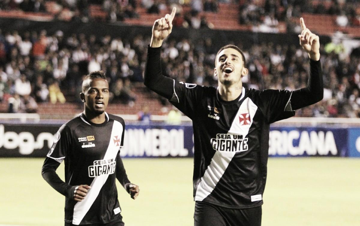 Thiago Galhardo evita culpar altitude por derrota do Vasco e crê na virada em São Januário