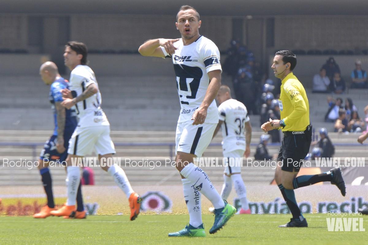 """El """"Chelo"""" Díaz, dueño del medio campo de Pumas"""