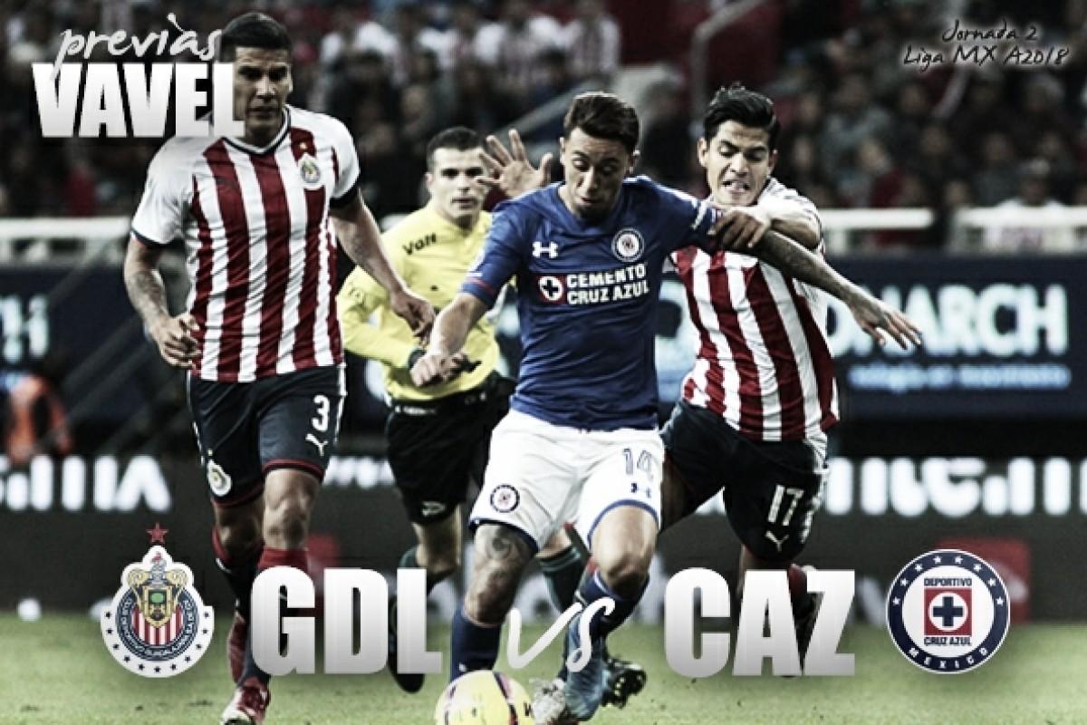 Previa Chivas - Cruz Azul: una rivalidad que quiere llegar a clásico