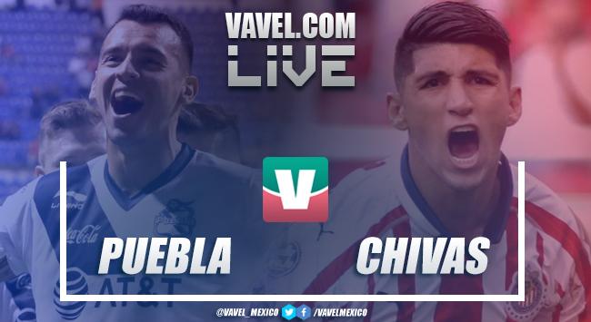 Resultado y goles del Puebla vs Chivas en Liga MX (2-2)