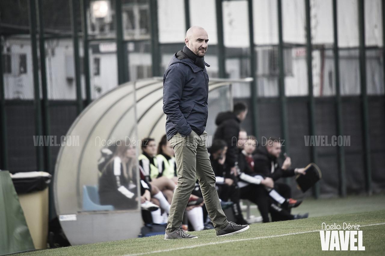 """Fran Sánchez: """"El equipo ha hecho un partido muy completo"""""""