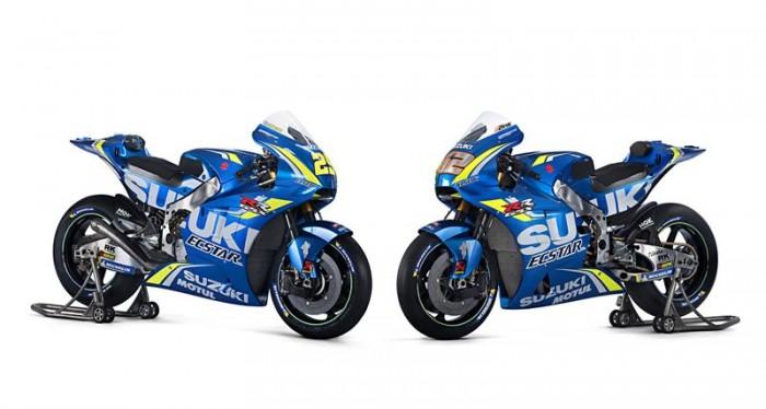 MotoGP, presentata la nuova Suzuki