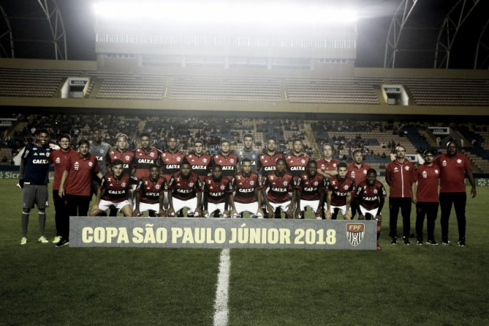 Após goleada na estreia, Flamengo encara Aimoré na Copa São Paulo de Futebol Júnior
