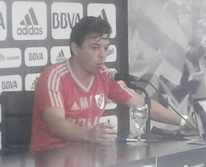 """Gallardo: """"Mora, Pratto y Lollo van a concentrar"""""""