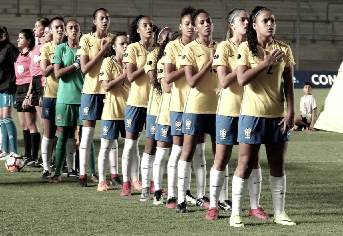 Quadrangular é definido e Brasil encara Uruguai no Sul-Americano Feminino Sub-17