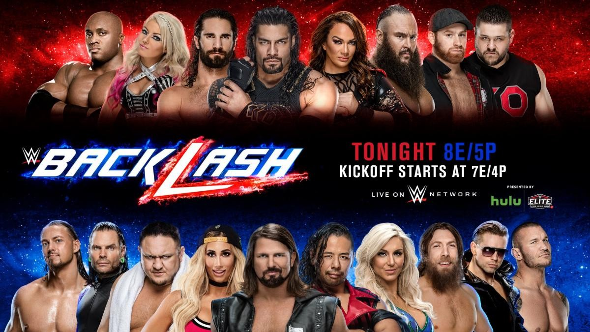 WWE Backlash 2018: Preview and Editor's Picks