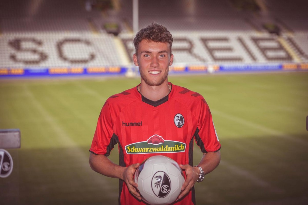 Luca Waldschmidt joins Dominique Heintz at Freiburg
