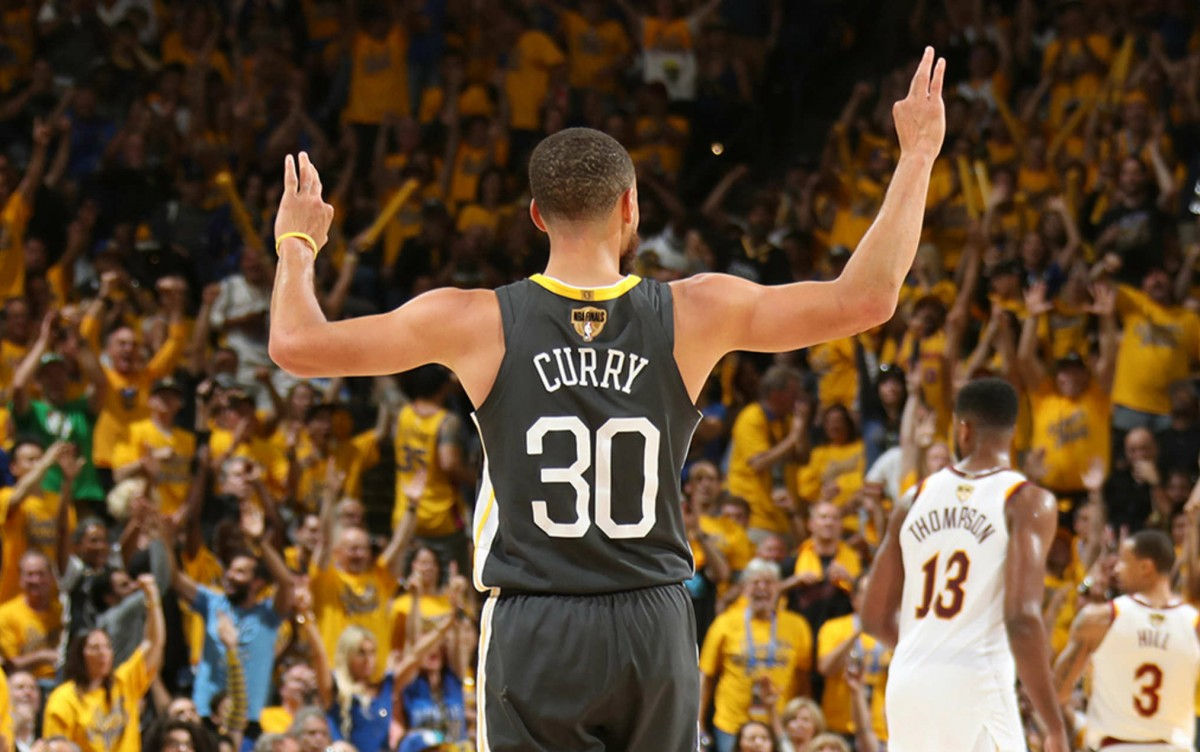 NBA Finals - Curry è da record, anche gara due è di Golden State