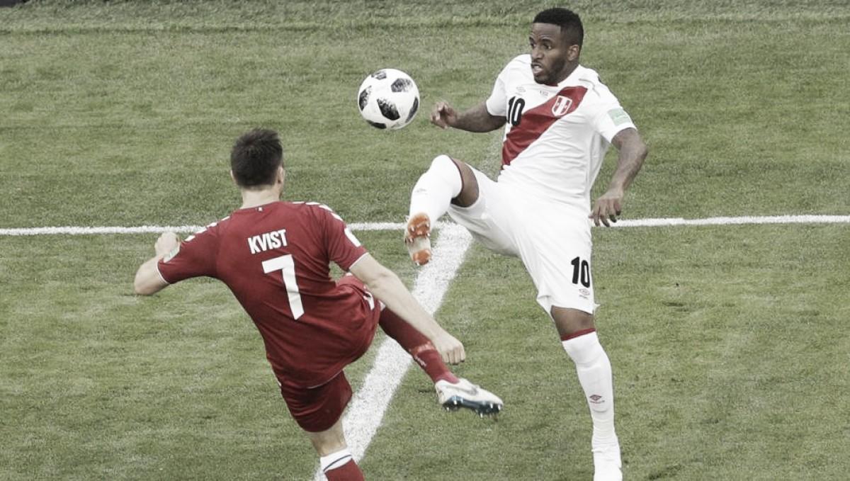 Perú vs Dinamarca, un duelo marcado por la eficacia sobre buen juego en Saransk