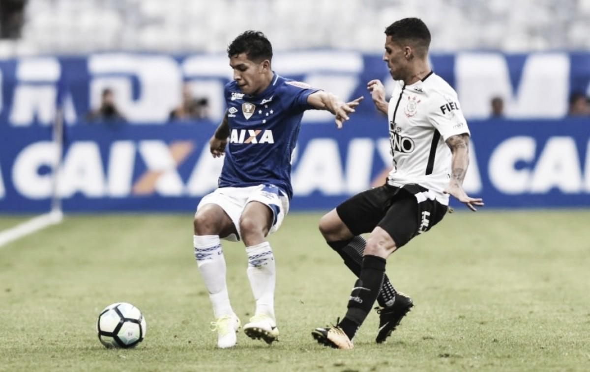 Aproveitando parada da Copa, Cruzeiro e Corinthians se enfrentam em amistoso intertemporada