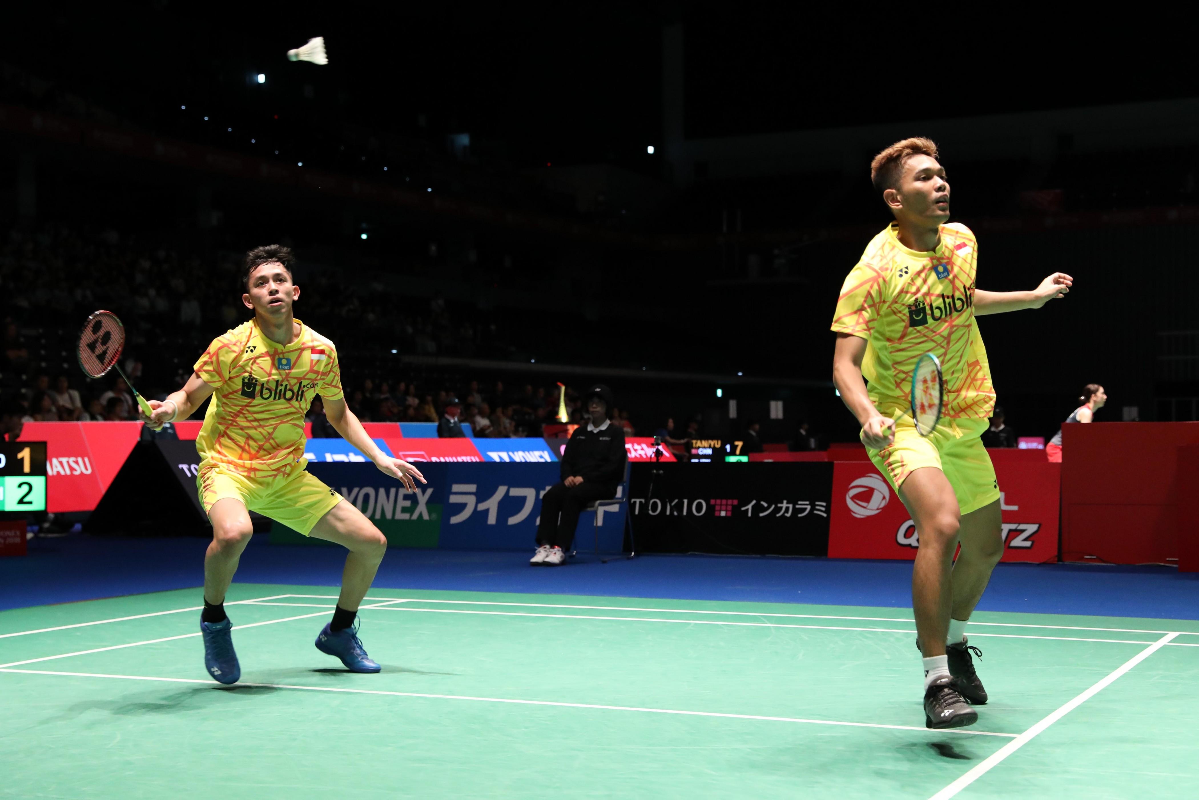 Fajar/Rian Gagal Lolos ke Semifinal Jepang Open 2018