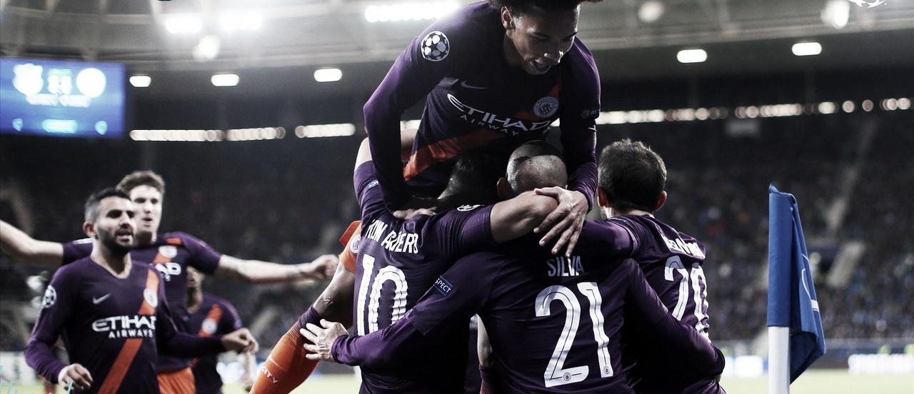 No sufoco, City vira sobre o Hoffenheim e conquista primeira vitória na Champions