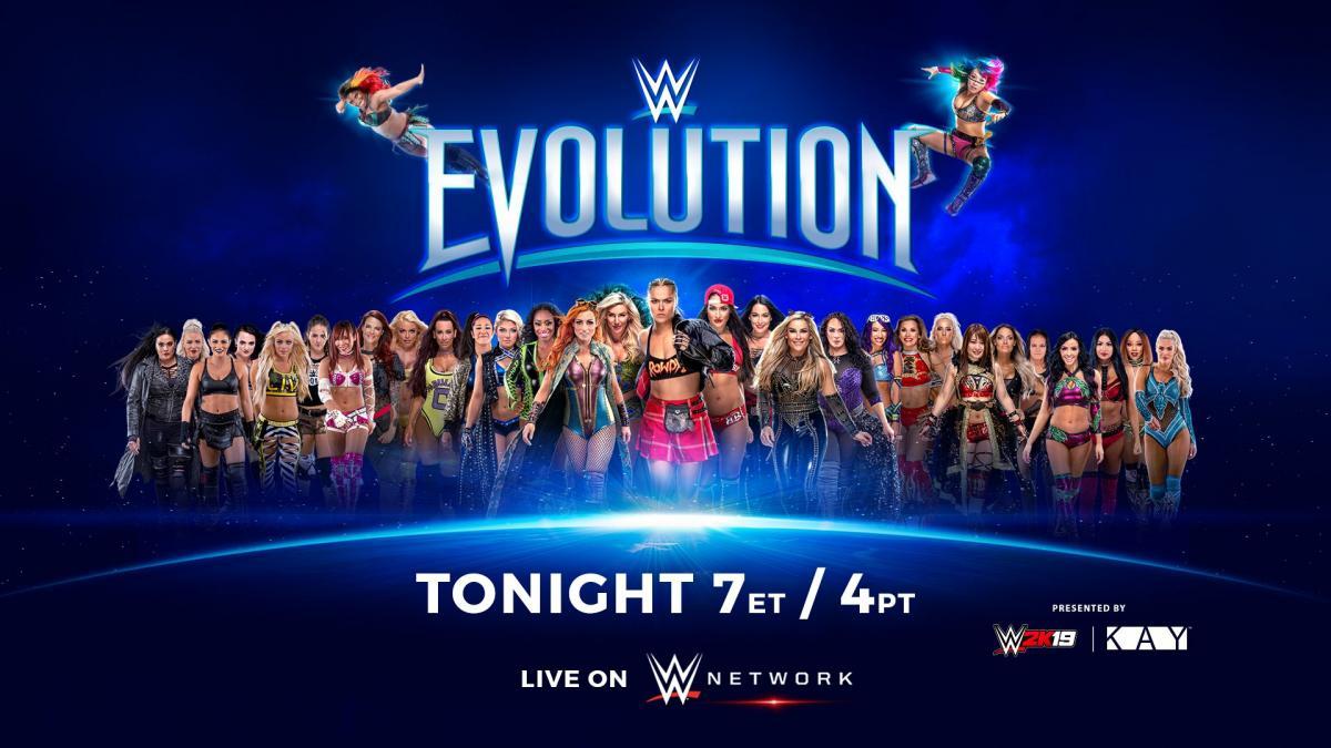 Cartelera WWE Evolution 2018