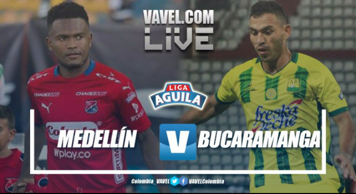 Resumen Medellín vs Bucaramanga por la Liga Águila 2018-II (2-0)