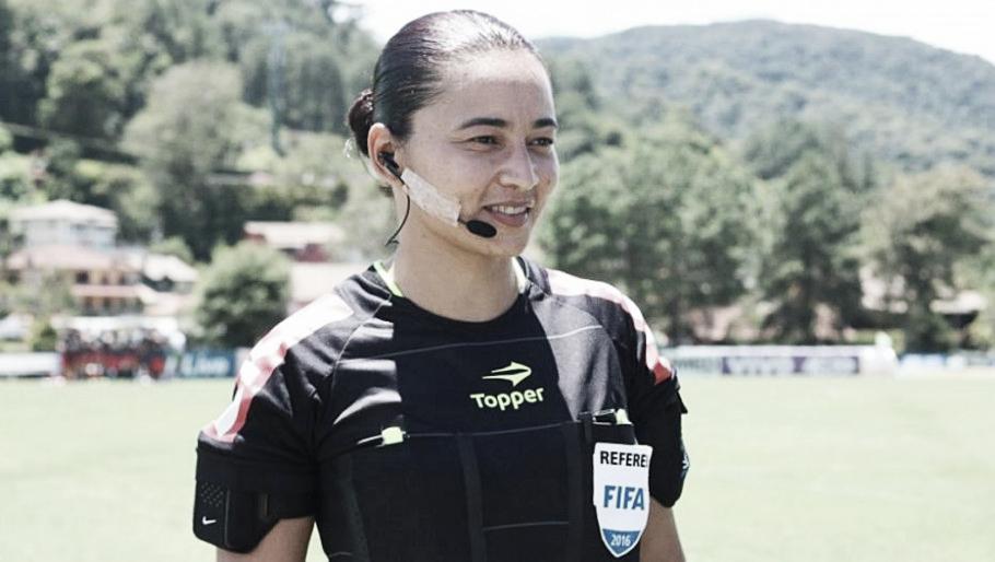 Edina Alves será a primeira árbitra de um jogo da Série A após 15 anos