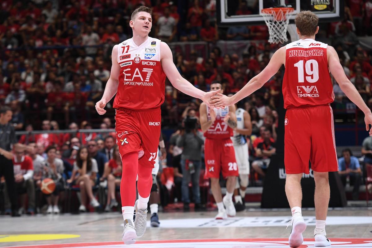 Legabasket Serie A - Finale scudetto, ancora tutto da giocare: la serie torna a Milano
