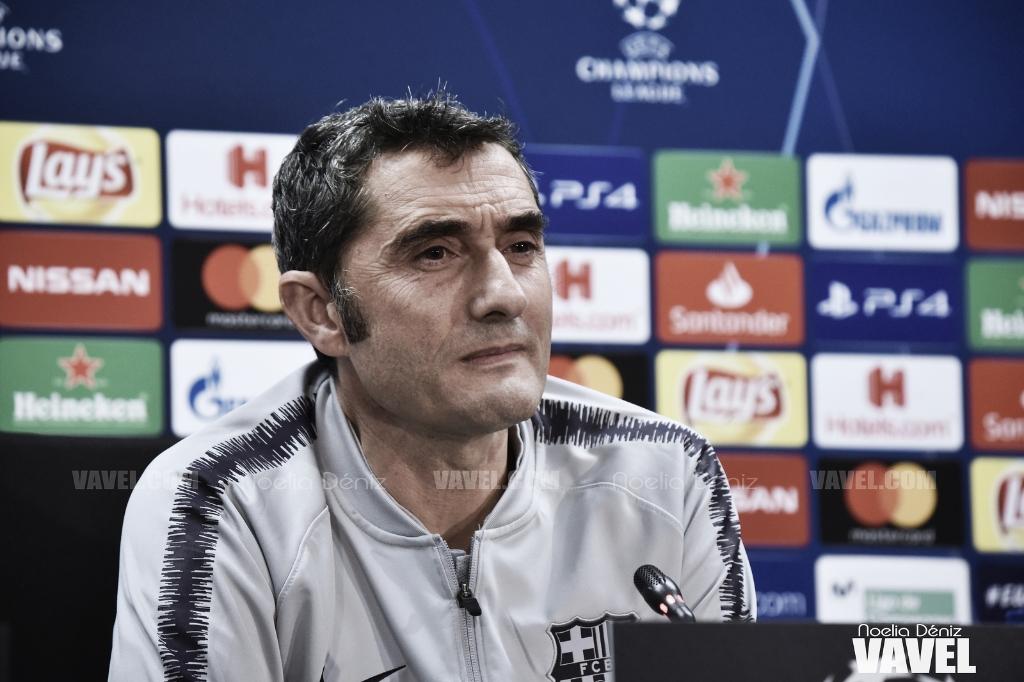 """Ernesto Valverde: """"Tengo contrato con el club"""""""