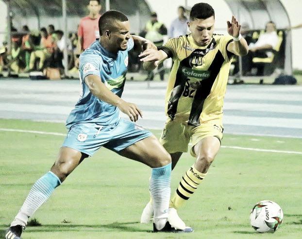Alianza Petrolera y Jaguares de Córdoba; rivales directos en el descenso, no pasaron del empate