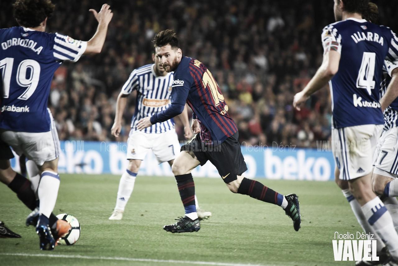Sin posesión pero con pegada: la contracrónica del Barça - Real Sociedad