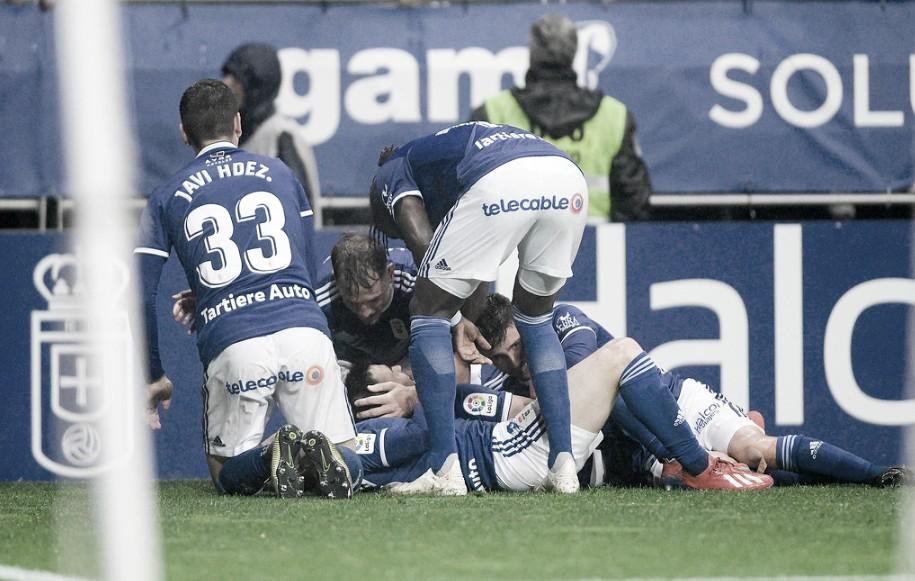 El Real Oviedo sigue vivo a costa del Rayo Majadahonda