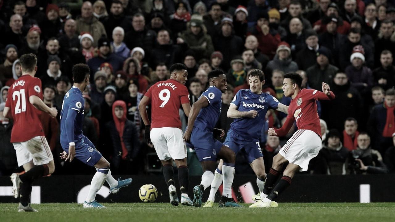 El United no pasa del empate ante Everton
