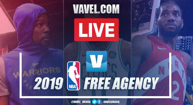 NBA Free Agency mercado do agentes livres AO VIVO online 2019