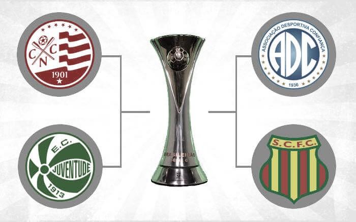 Jogos de volta das semifinais: o histórico é favorável a Sampaio e Juventude na Série C